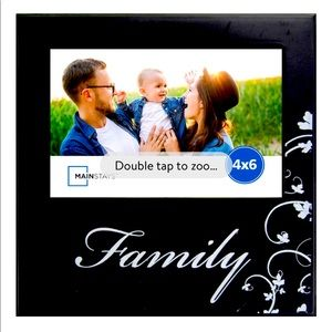 👨👩👦 FAMILY PICTURE FRAME (4x6) 👨👩👦